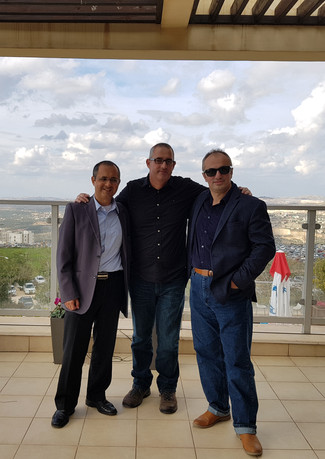 Prof. E. Perlson's visit IBSCA