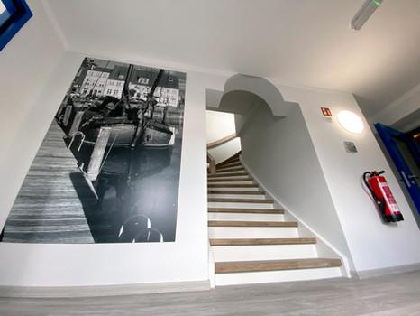Weserschlösschen Treppenhaus
