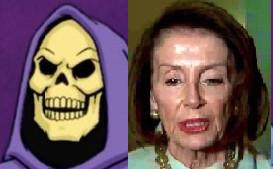 Nancy Pelosi, Skeletor