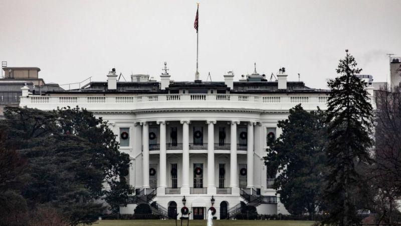 White House Donald Trump Joe Biden