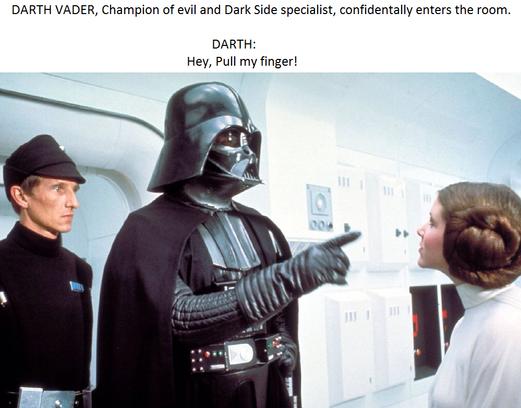 Darth Vader Finger