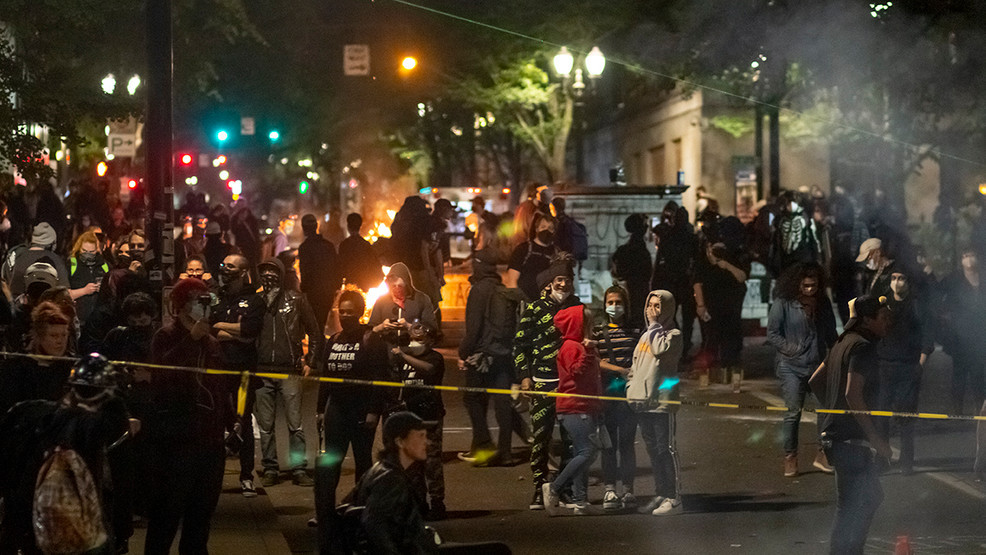 Protest, Riot, Portland, Protester, Rioter