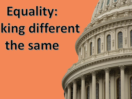 Equality: Making Different the Same