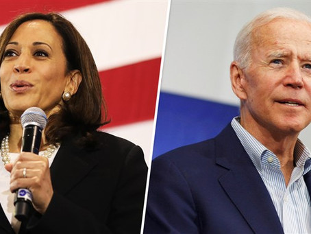 Joe Biden Learns That He Picked Kamala Harris