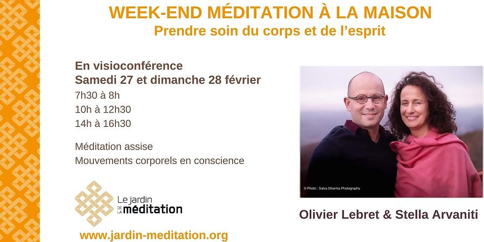 Week-end méditation à la maison