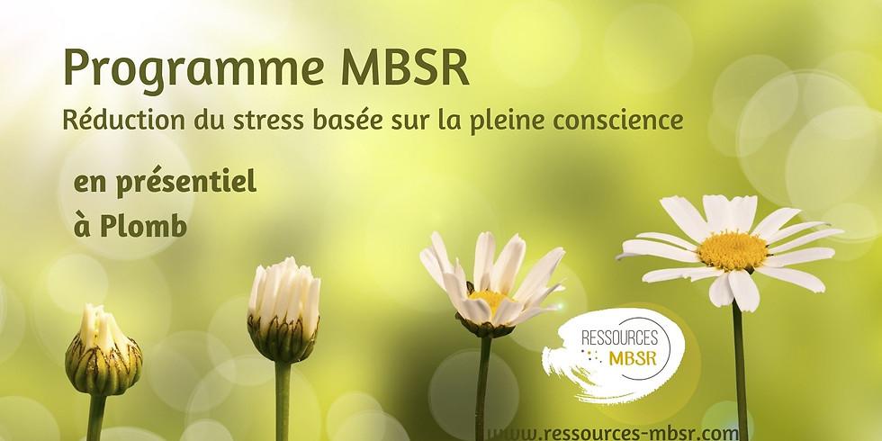 Programme MBSR en présentiel