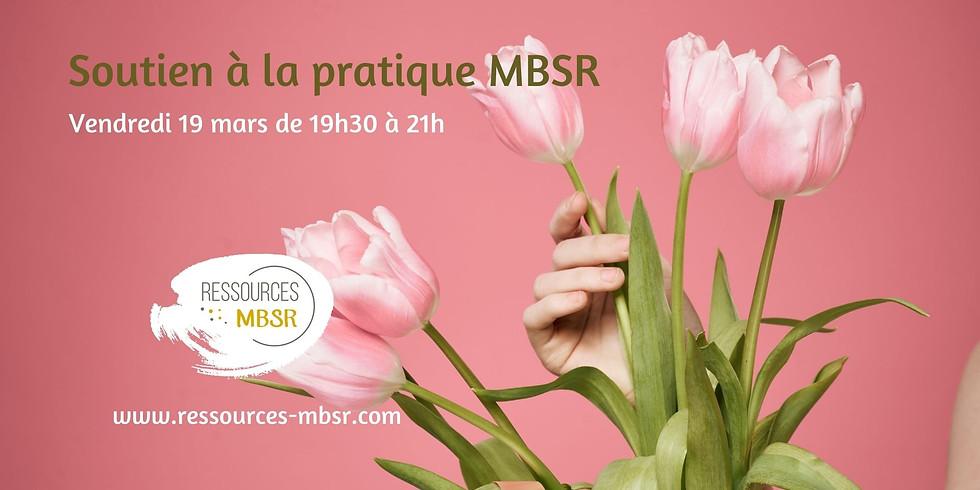 Soutien à la pratique MBSR