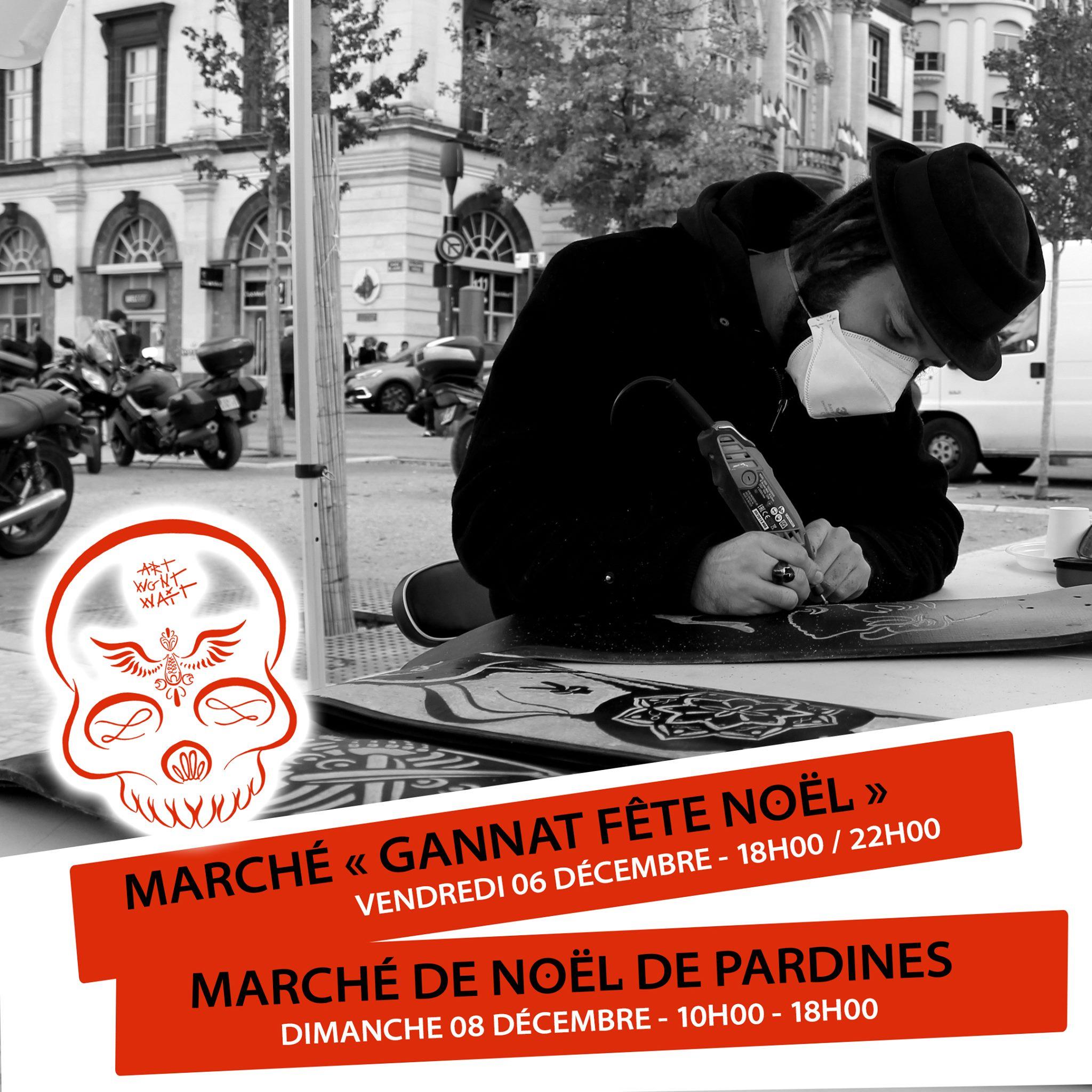 MARCHÉS DE NOËL GANNAT & PARDINES - 06 & 08 DÉCEMBRE 2019