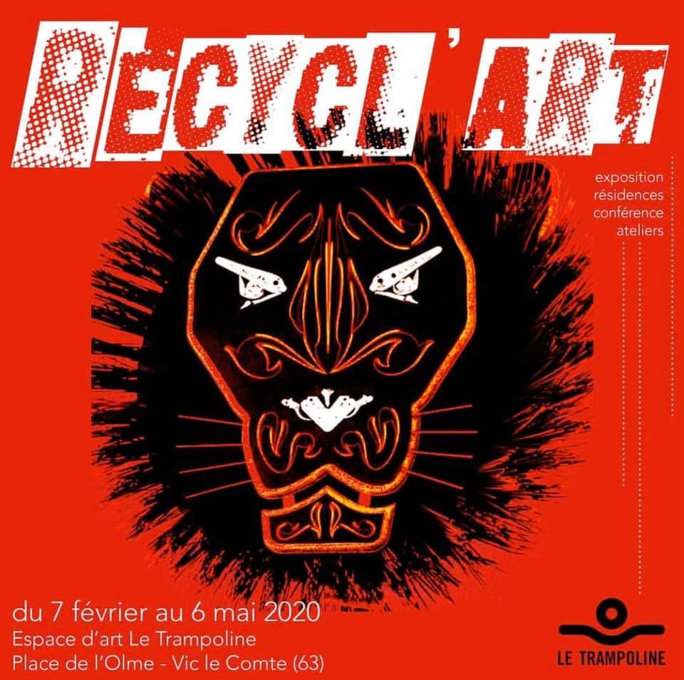 """EXPOSITION COLLECTIVE """"RECYCL'ART"""" @VIC LE COMTE - 07 FÉVRIER 2020"""