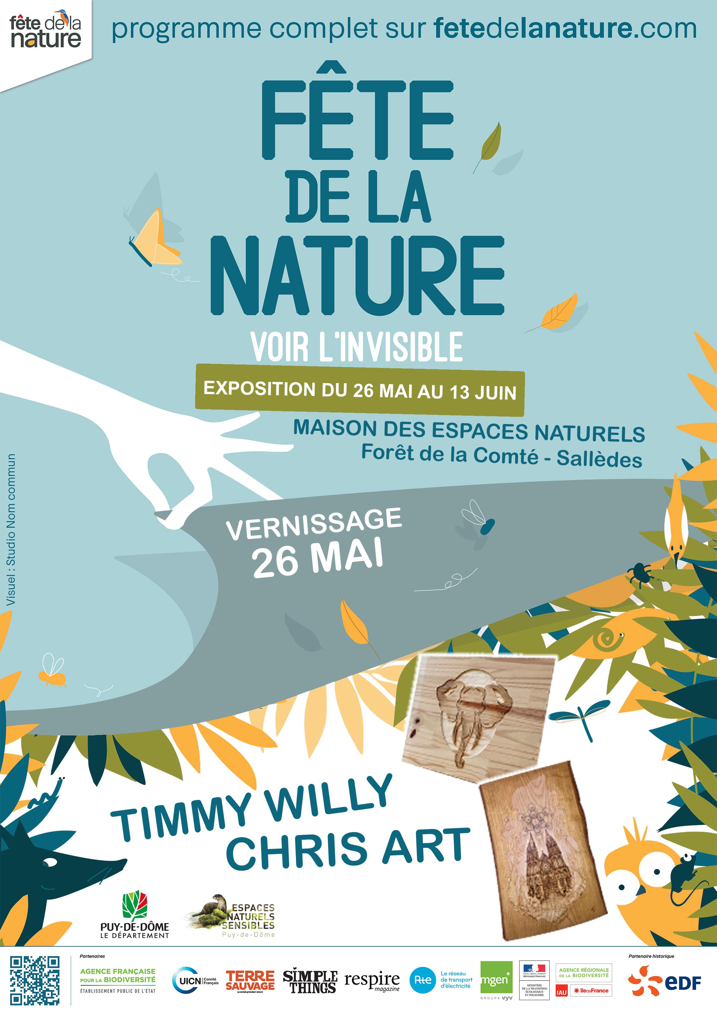 EXPOSITION COLLECTIVE FÊTE DE LA NATURE @SALLÈDES - 26 MAI au 13 JUIN 2018