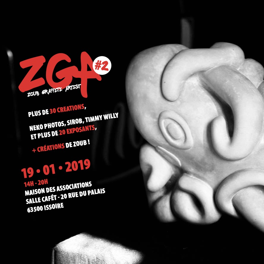 EXPOSITION COLLECTIVE ZGA @ISSOIRE - 19 JANVIER 2019