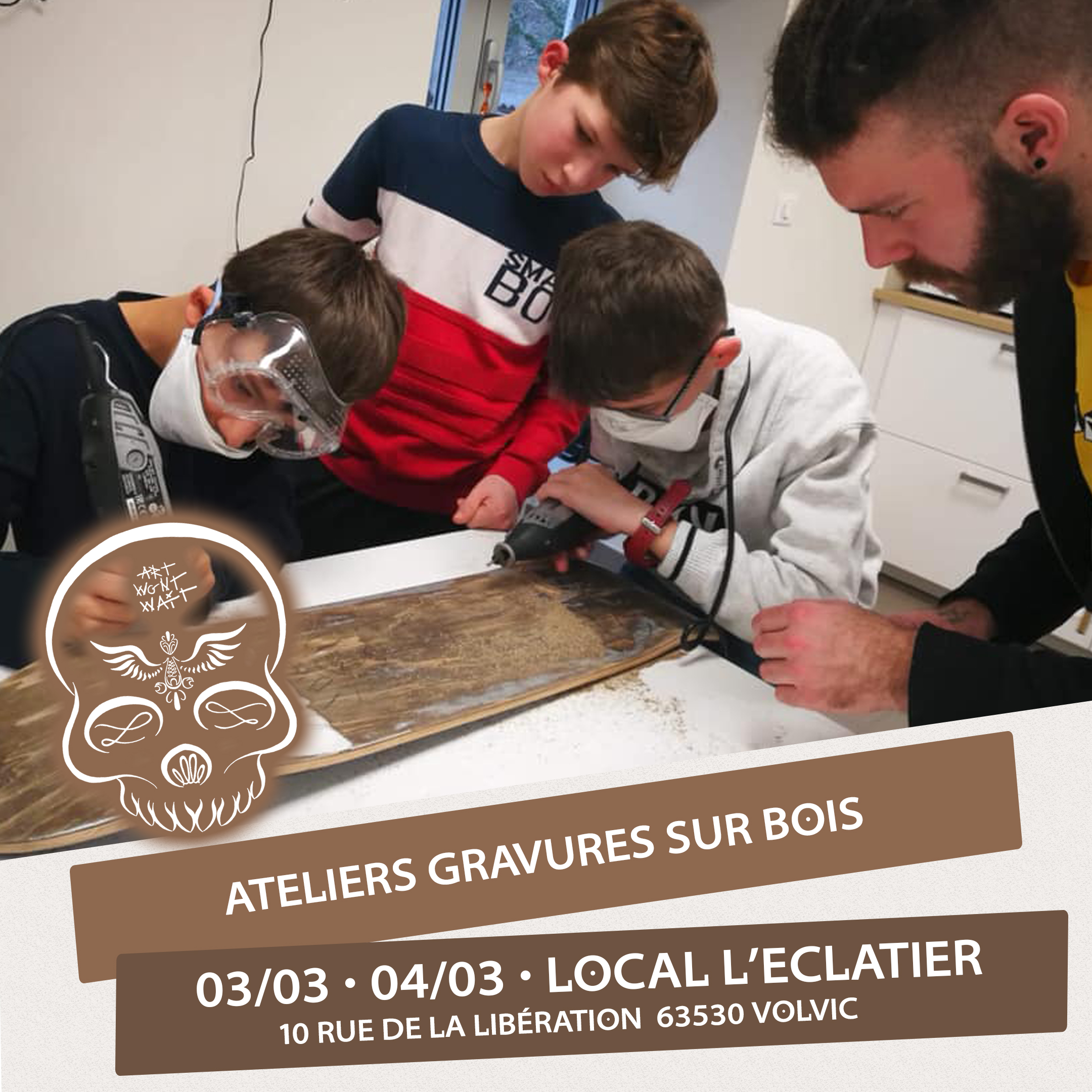 ATELIERS GRAVURES - 03 & 04 MARS 2020