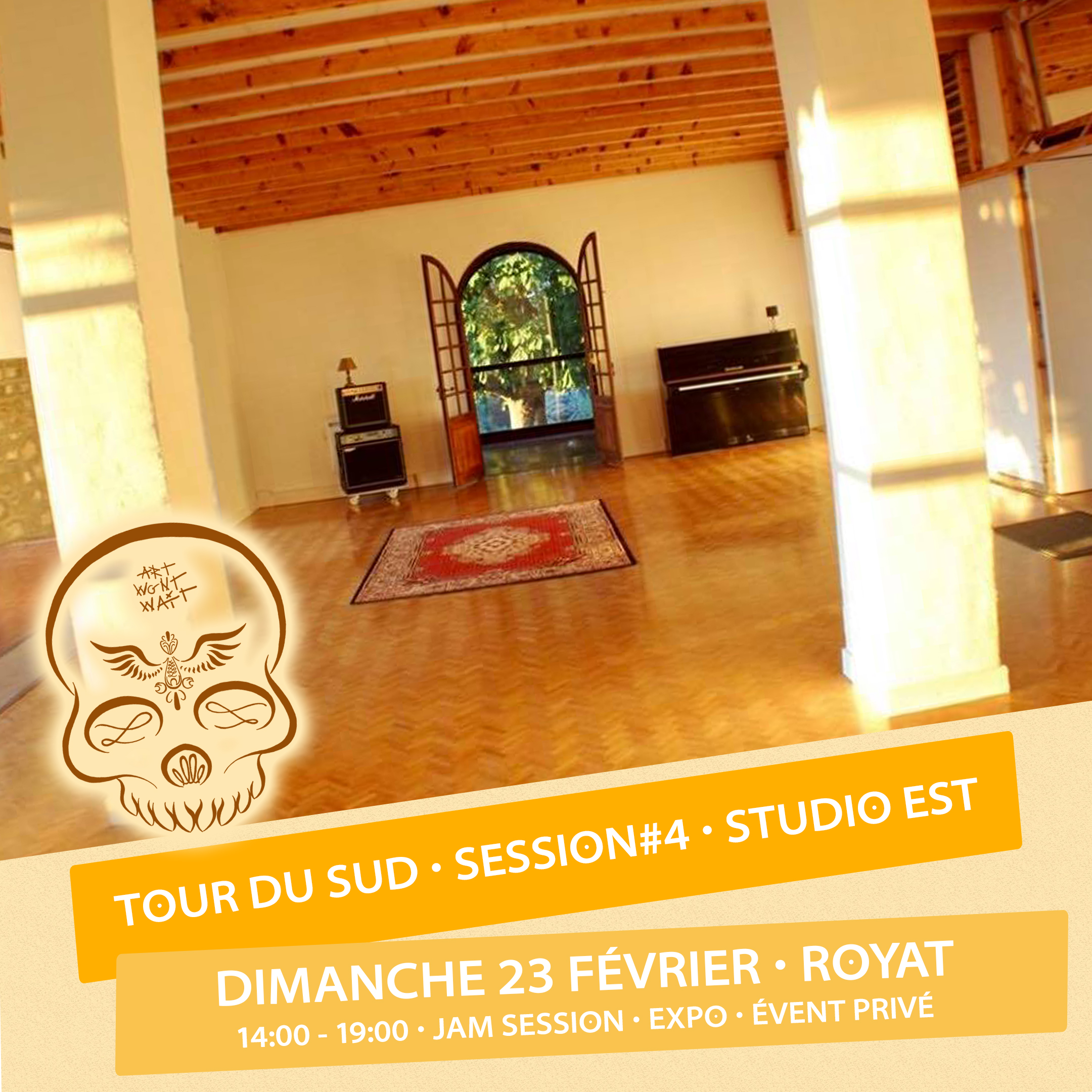 EXPOSITION TOUR DU SUD @ROYAT - 23 FÉVRIER 2020