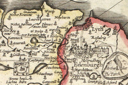 old map of N Edin