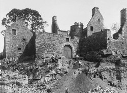 castle-being-quarried