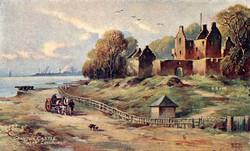 0_post_card_views_unidentified_granton_castle_coloured
