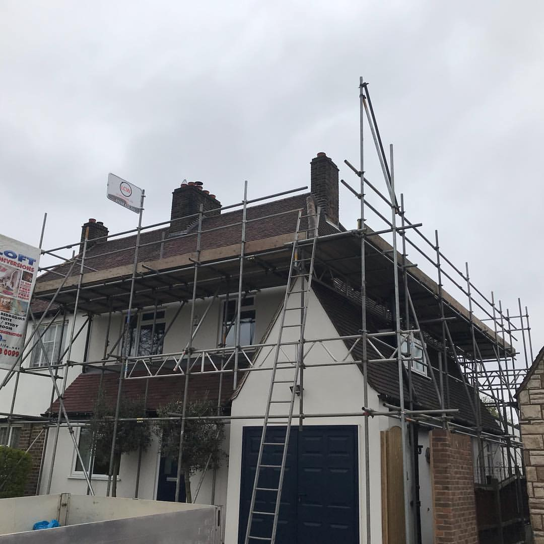 Kent scaffolding for loft conversion