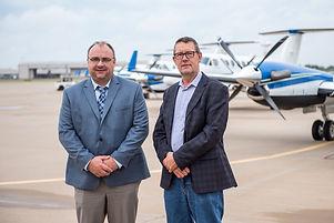 Jake Fehr and Kevin Schaub Canwest Air Leadership