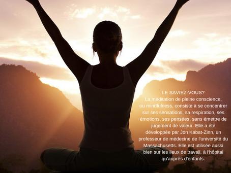 Méditation, effet de mode ou bien faits avérés?