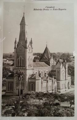 Catedral Metropolitana de São Sebastião - Ribeirão Preto (imagem histórica)