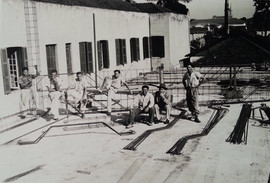 Construção do Salão Nobre