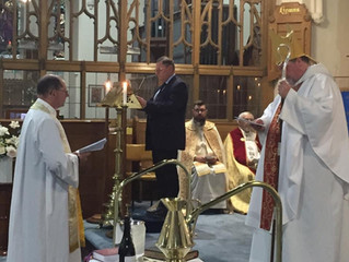 New Rector installed despite COVID barriers