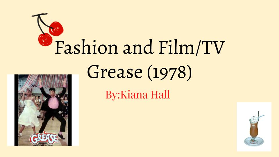 Kiana Hall - Fashion and Film_TV