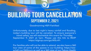 Building Tour Cancellation