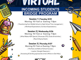 RSVP: INCOMING STUDENT BRIDGE PROGRAM