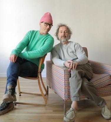 DUCKIE BROWN:  DESIGNERS STEVEN COX  & DANIEL SILVER
