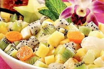 Salade de fruits frais exotiques