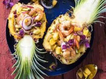 Ananas au crabe