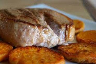 Mercredi - Tournedos de canard, sauce poivre, riz créole & patate douce