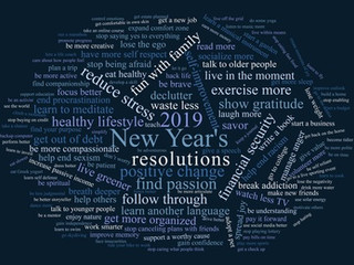 What's your New Year's Resolution for 2019?