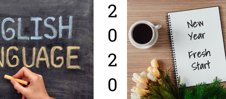 January Newsletter - Happy New Year! Read on for free English learning tips, info about 2020 holiday