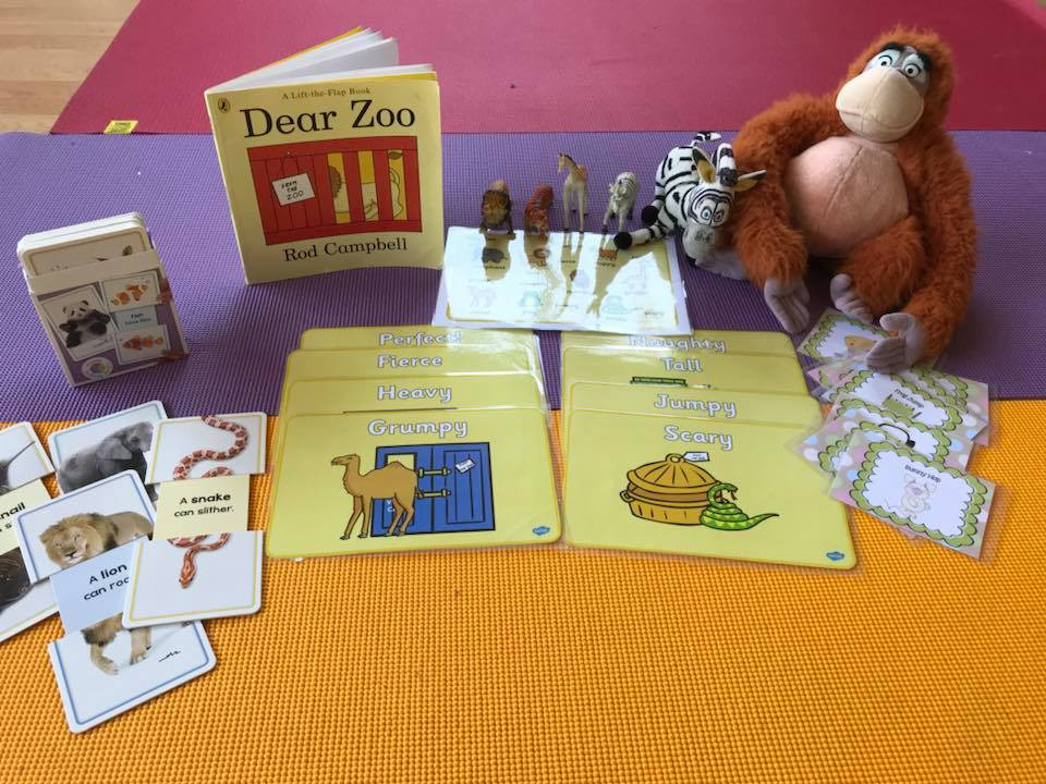 """KidooLand used """"Dear Zoo"""" was used in an English is Fun class for 4-6yr olds recently"""