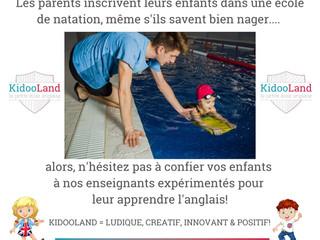 Pourquoi les enfants anglophones viennent à KidooLand? Réponse directe de notre chef de réservation!