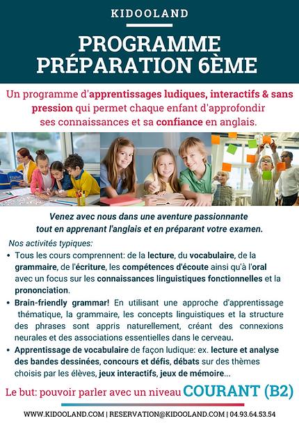 KL-ProgrammePresentation-Prep6eme(recto)