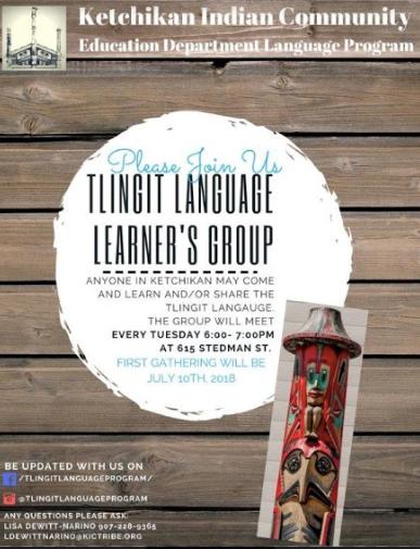 Tlingit Language Learners Group