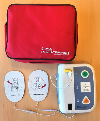 First Aid Training AED for FAW, EFAW