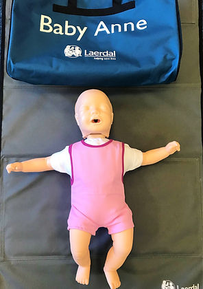 Paediatric First Aid at Training Manikin