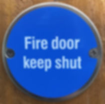 Fire Safety Sign BeSure Training Mid Sussex