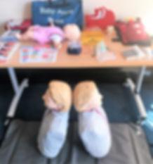 EFAW Emergency First Aid at Work Training equipment