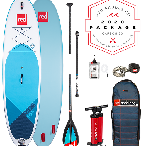 """10'8"""" Ride MSL Inflatable SUP Package"""