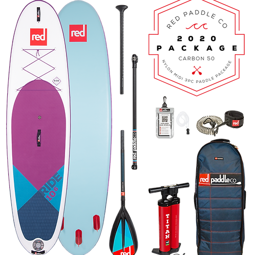 """10'6"""" Ride MSL SE Inflatable SUP Package"""