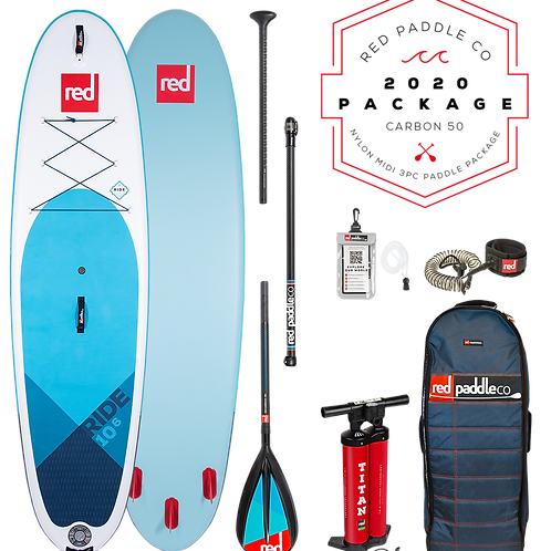 "10'6"" Ride MSL Inflatable SUP Package"