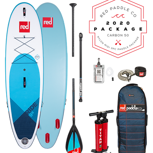 """9'8"""" Ride MSL inflatable SUP Package"""