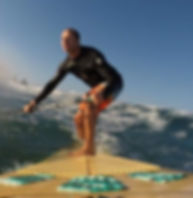 Justin SUP surfing Warilla Beach