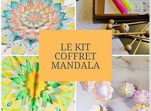 Récréartiss_Présentation coffret Mandala