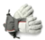 Gants de ski gris